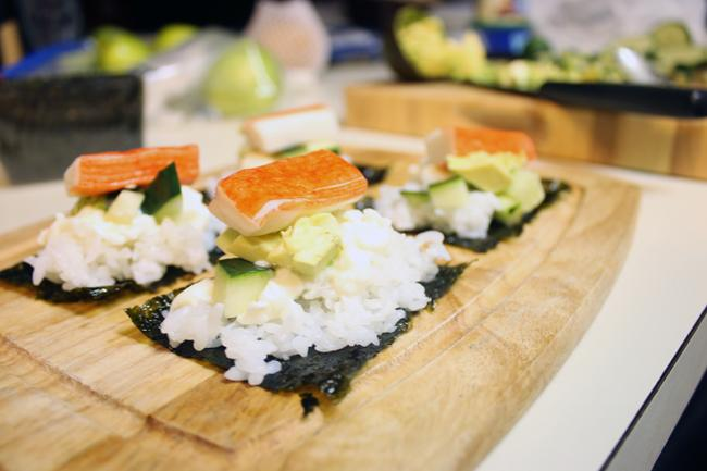 Pinterest Project: Lazy Sushi