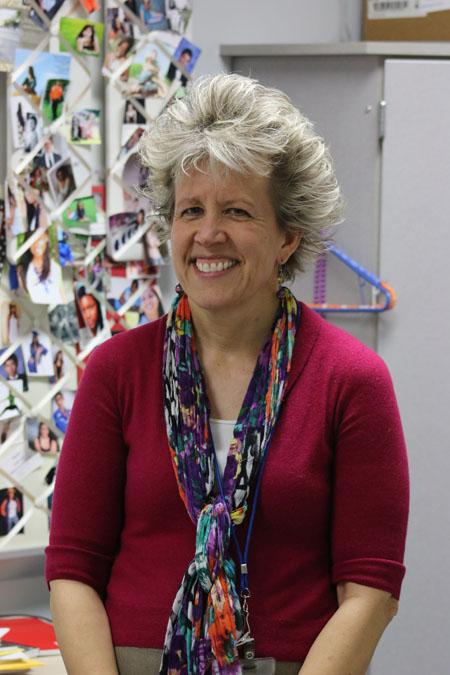 Teacher of the Year Susan Schwertz