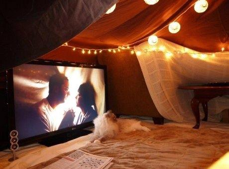 movie night:fort