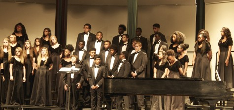 Chorale, Varsity choir, did outstanding at the concert on Thursday