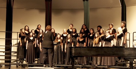 Camerada, freshman girls non varsity, sang with passion and strength