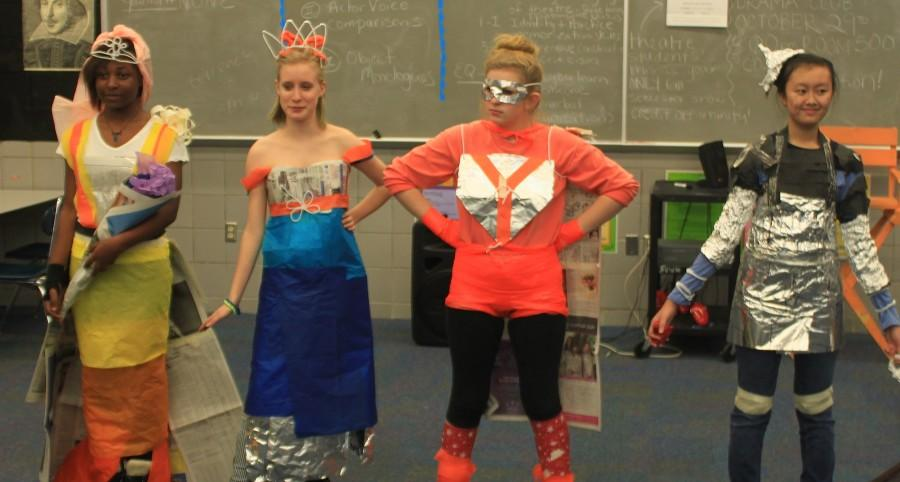 The Bowie Drama Club held their annual Halloween costume making competition. Everyone created unique costumes such as Yoga Man, The Tin Man, a dragon princess and a runaway bride.