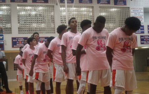 Bowie Vols get win during pink out game