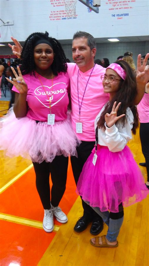 Pinked out with the Principal