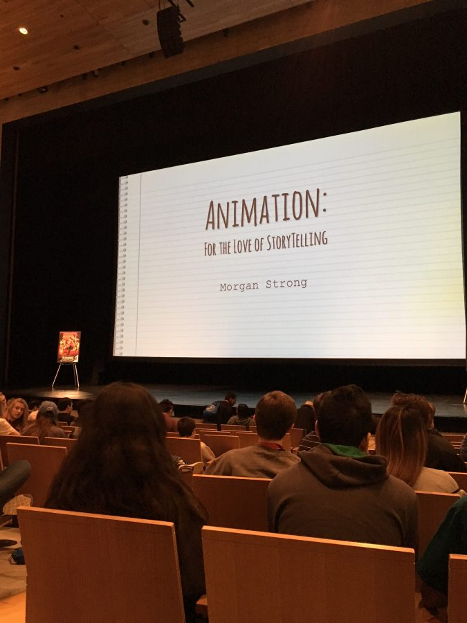 An Animation powerpoint presented by Morgan Strong.