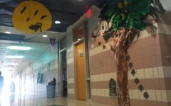 Bowie students getting ready for Halloween