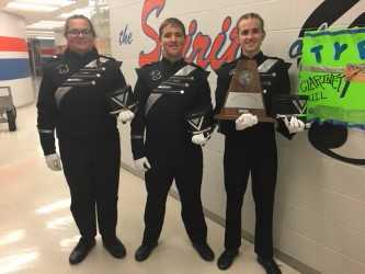 UIL Marching Band Winning!